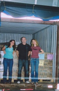 sarah tammy &amp; mel inside container