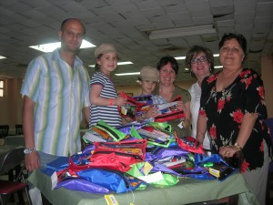 Kinder Kits in Varadero with ORT Cuba