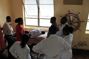 DAY 12 Ngozi hosts a physiotherapy lecture