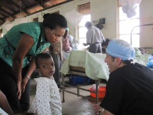 DAy 12 Dr Lieberman consults with a young patient and her connerned mother