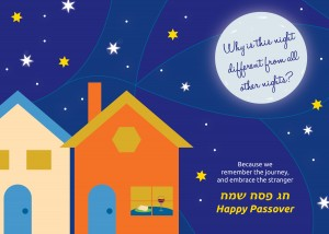 Tribute Jewish Holiday Card Passover