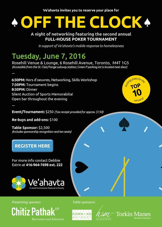 Poker tournament final April 21 2016